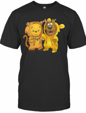 Baby Pooh And Scooby Doo T-Shirt