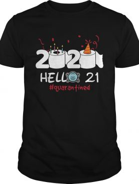 Born in 1999 Birthday Gift Idea 2020 Hello 21 Toilet Paper Birthday Cake Quarantined Social Distanc