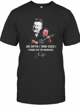 Joe Diffie 1958 2020 Thank For The Memories T-Shirt