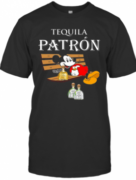 Mickey Mouse Drink Tequila Patron T-Shirt