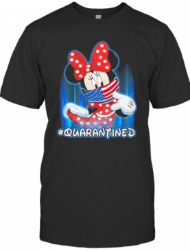 Minnie Mouse Face Mask Quarantined T-Shirt
