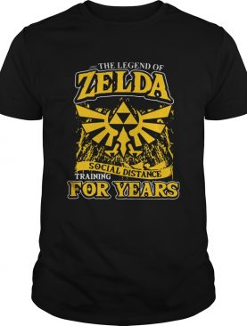 The Legend Of Zelda Social Distance Training shirt