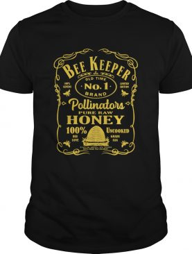 Bee keeper old time no 1 brand pollinator pure raw honey shirt