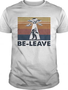 Bigfoot UFO be leave vintage shirt
