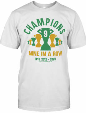 Celtic 9 In A Row T-Shirt