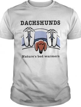 Dachshunds Natures bed warmers shirt