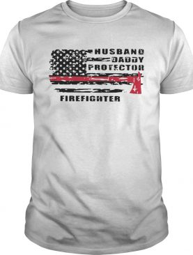 Good Husband Daddy Protector Firefighter shirt