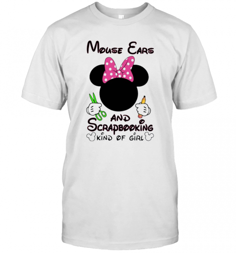 Mickey Mouse Cars And Scrapbooking Kind Of Girl T Shirt Classic Mens T shirt