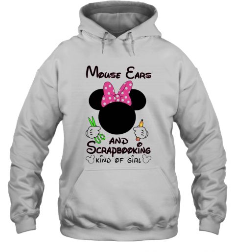 Mickey Mouse Cars And Scrapbooking Kind Of Girl T-Shirt Unisex Hoodie