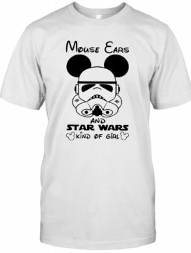 Mickey Mouse Cars And Star Wars Kind Of Girl T-Shirt