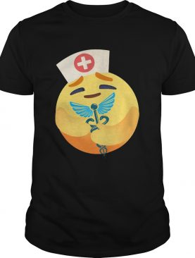 Nurse icon hug caduceus symbol shirt