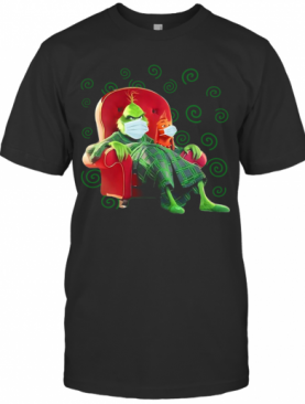 The Grinch Sitting In A Chair Covid 19 T-Shirt