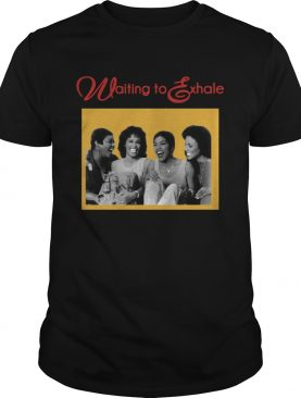 Waiting To Exhale Friends Are The People Who Let You Be Yourself shirt