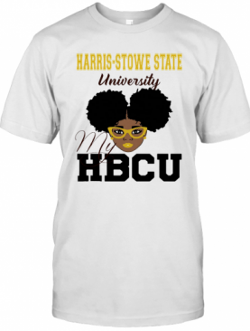 Black Girl Harris Stowe State University My Hbcu T-Shirt