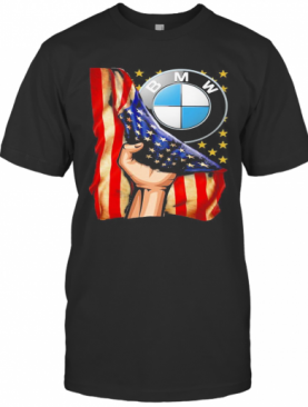 Bmw American Flag Independence Day T-Shirt