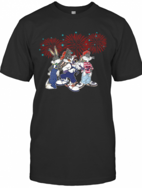Bugs Bunny Happy The 4Th Of July America T-Shirt