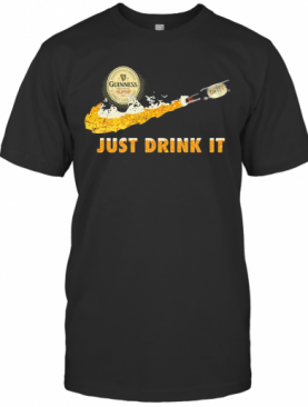 Guinness beer nike just drink it shirt T-Shirt