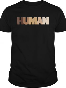Human black lives matter shirt