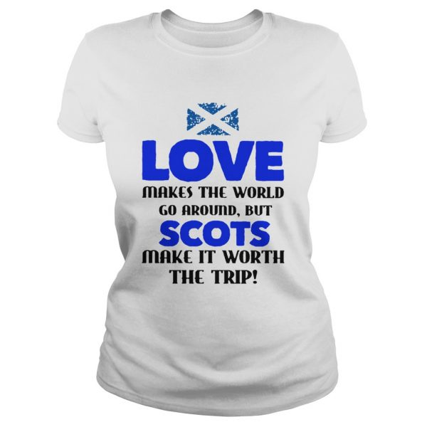 Love Makes The World Go Around But The Scots Make It Worth The Trip  Classic Ladies