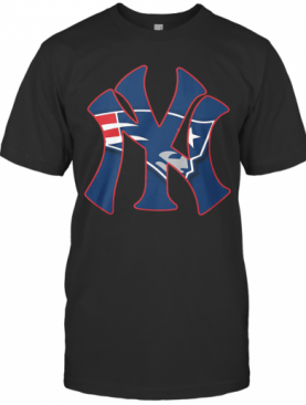 New York Yankees And New England Patriots shirt T-Shirt