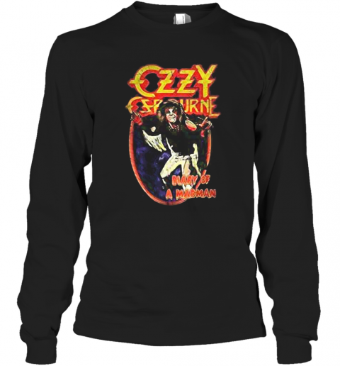 Ozzy Osbourne Diary Of A Madman T-Shirt Long Sleeved T-shirt