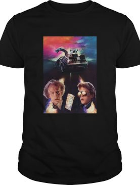 Back to the future movie outa time shirt