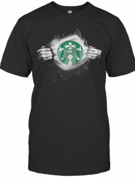 Blood Insides Starbucks T-Shirt