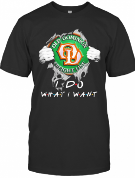 Old Dominion Freight Line I Do What I Want Superman T-Shirt