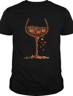 Wine Fall shirt