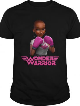 Black girl boxer wonder warrior shirt