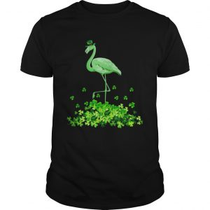 Flamingo St Patricks Day Women Irish Flamingo  Unisex