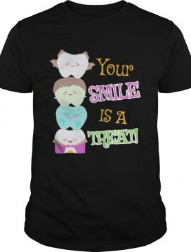 Halloween dental your smile is a treat shirt