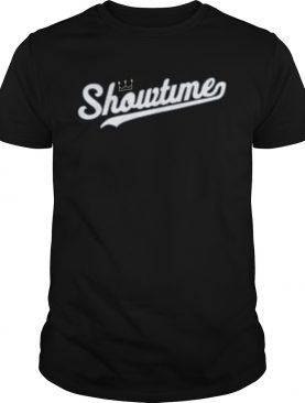 Showtime Showtime Baseball Halloween shirt