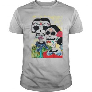 Amor Sugar Skull Couple Dia De Los Muertos Day Of The Dead shirt