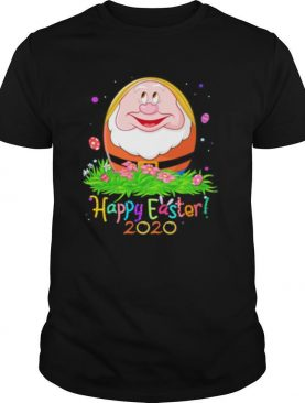 Dopey smiling happy easter 2020 flowers shirt