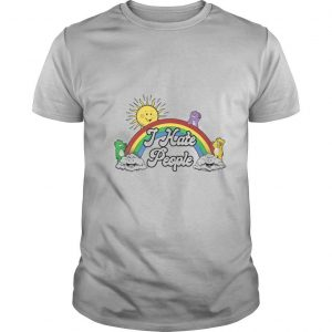 Grateful Bears Rainbow I Hate People shirt