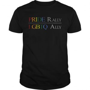 I Cant See Pride Rally LGBTQ Ally  Unisex