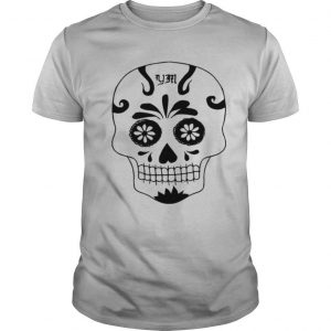 Skull Simple Day Of The Dead In Mexican shirt