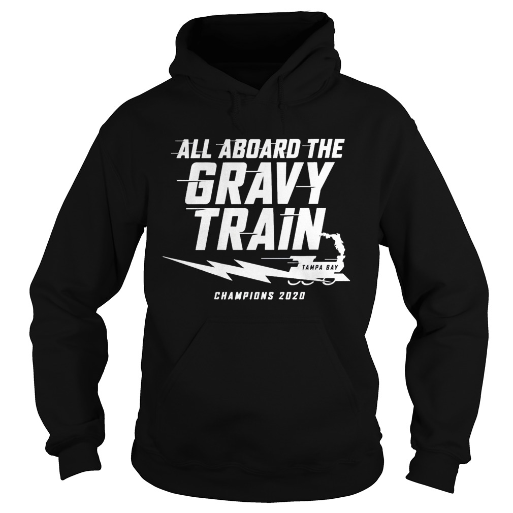 All aboard the Gravy Train Tampa Bay Lightning Champions 2020  Hoodie