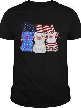 Pigs American Flag shirt