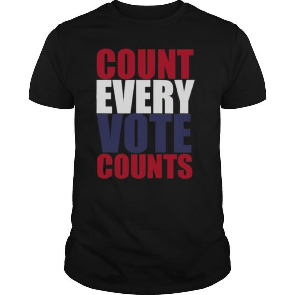 Count Every Vote Counts shirt