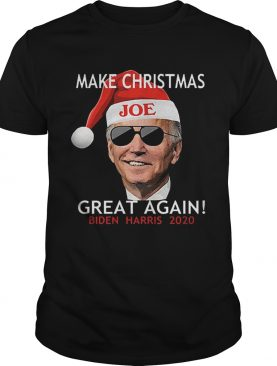 Joe Biden Kamala Harris 2020 Make Christmas Great Again shirt