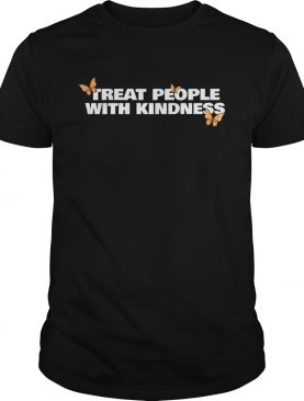 Treat People With Kindness butterfly shirt