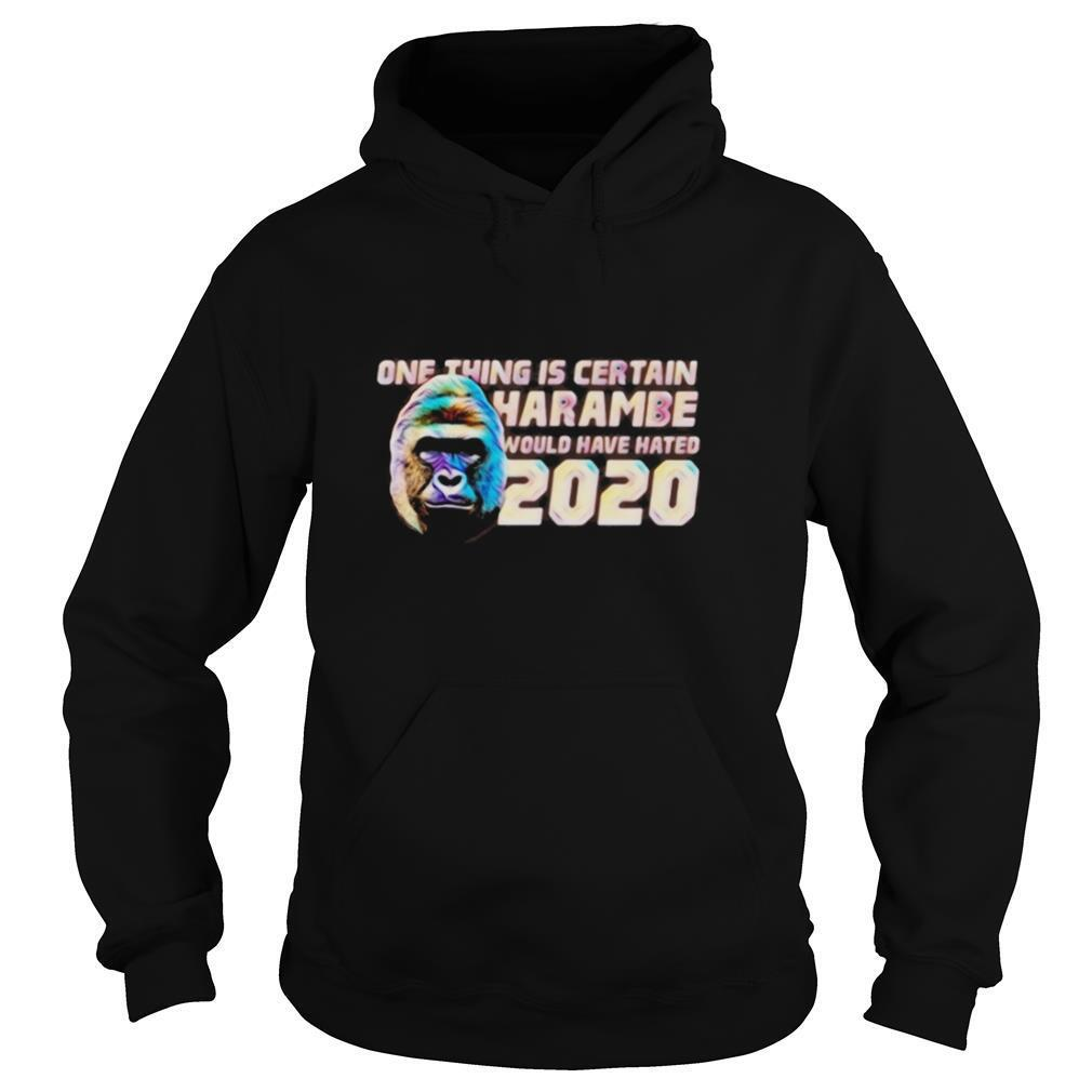 One thing is certain Harambe would have hated 2020 shirt
