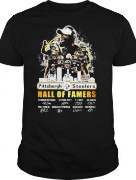 Pittsburgh Steelers Hall Of Famers Signuature Team shirt