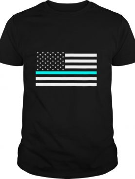 The Thin Baja Blast Line Flag shirt