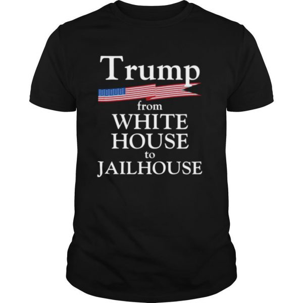 Trump Story From White House To Jailhouse American Flag shirt