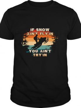 Vintage Snowmobiling For Snowmobilers Snocross shirt