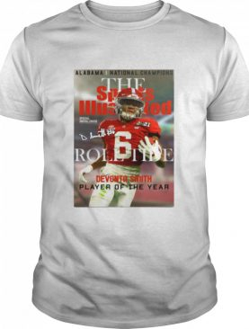 The Devonta Smith Player Of The Year 2021 Signature shirt