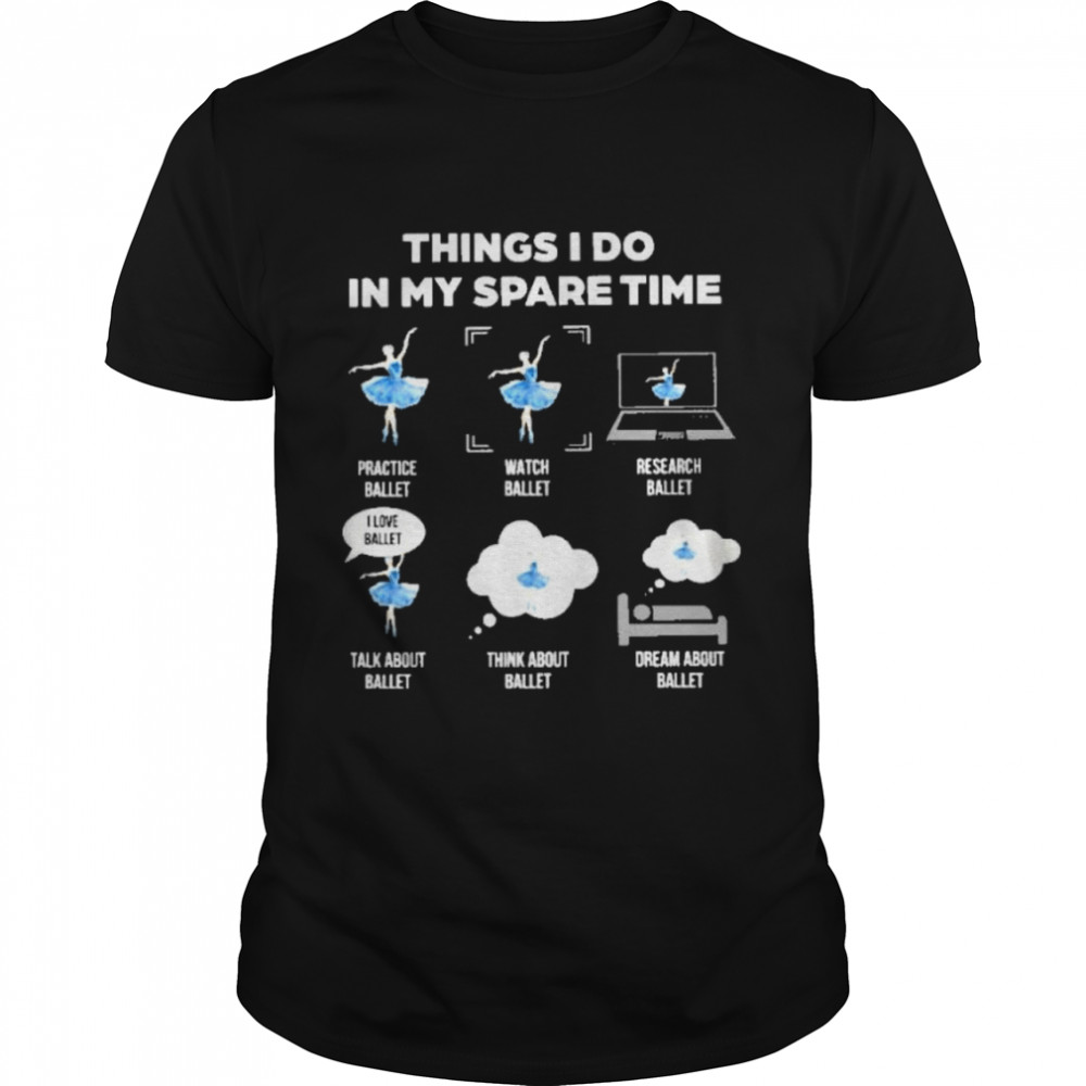 Things I do in my spare time Classic Mens T shirt